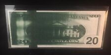 Flooded-Plate Ink-smear Error Note $20 1996 FRN Big Head Showing IR Strip Rare