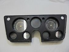 1967-1972 Chevy Pick Up Truck Instrument Gauge Cluster Assembly