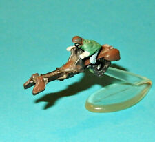 STAR WARS Micro Machines - PRINCESS LEIA on SPEEDER BIKE - Endor figure lot