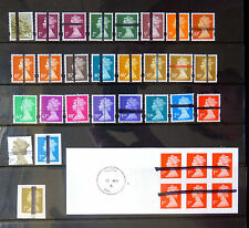 GB Machin School Training Stamps Collection of 27 Different & Booklet SR374