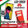 DISPLAY LCD+TOUCH SCREEN HUAWEI Y7 2019 ORIGINALE DUB-LX1 LX2 L22 VETRO SCHERMO!