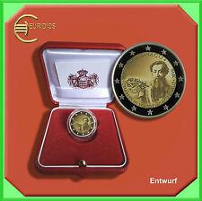 """2 Euro € Gedenkmünze Coins Monaco 2016 """"150. Jahrestag Gründung Monte Carlo """" PP"""