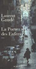 LAURENT GAUDE LA PORTE DES ENFERS + PARIS POSTER GUIDE