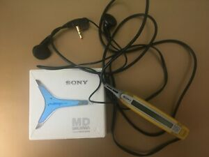 Sony MZ-E90 MiniDisc digital audio system, White! From Personal Collection