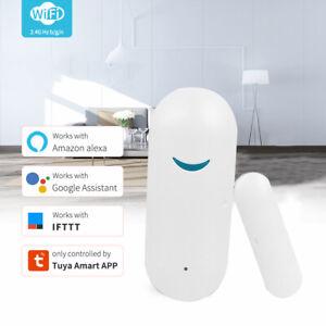 Smart WiFi Door Sensor For Tuya APP Control Window Door Opening Security Alarm