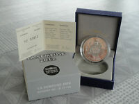 10 euro BE France 2012 argent - LA SEMEUSE 2012 RARE  !!!!