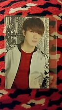 Ftisland min hwan n.w.u Japan jp japan OFFICIAL Photocard Kpop K-pop