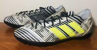 Adidas Nemeziz Tango 17.3 TF Turf Soccer Shoes Black-White BB3657 Size 11.5