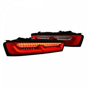 Smoked Sequential LED Dark Taillights for 2016-2018 Camaro 6th Gen GM 84136777