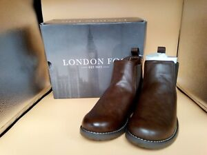 Men's London Fog LFM-Northampton Brown Ankle Boots Size:UK 9 (New with tags)