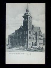 1908 Post Office Waco TX post card