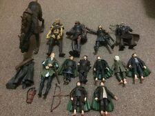 Large lot of Lord of the Rings/Hobbit Figures with Weapons