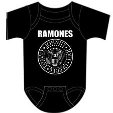 RAMONES Punk Rock Band SEAL Baby Infant Toddler ONE PIECE BODYSUIT 12 Months New