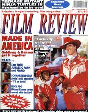 FILM REVIEW MAGAZINE 1993 SEP WHOPPIE GOLDBERG & TED DANSON, JIM ABRAHAMS