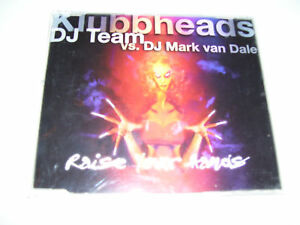 KLUBHEADS - RAISE YOUR HANDS 4tr. CD MAXI 1998
