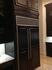 "Custom Stainless Steel Handle - SUB-ZERO Refrigerator -3/4"" Round, 24"" Long"