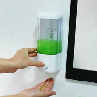 Soap Dispenser Liquid Hand Wash Toilet  Bathroom Shower Gel Pump Wall Mounted