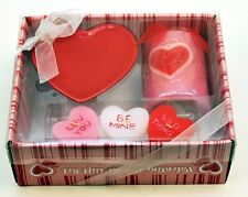 Valentine Candle Gift Set