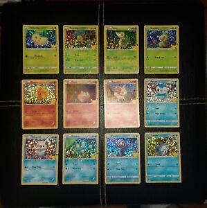 McDonald's 25th Anniversary Pokémon Holo Error Lot - 12 Error Holo Cards