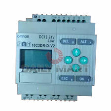 OMRON ZEN-10C3DR-D-V2 PROGRAMMABLE CONTROLLER RELAY 12-24VDC ZEN SERIES NEW