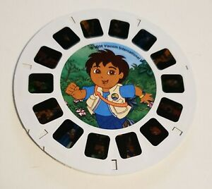 Viewmaster 3 Reel Set Go Diego Go from Dora the Explorer Reels A, B, C