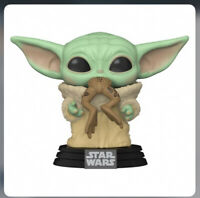 Funko Pop! Star Wars The Mandalorian The Child w/ Frog w/Protector Preorder July