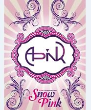 K-POP APINK 2nd Mini Album [Snow Pink] CD + Booklet Sealed Music Album
