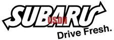 "Subaru Drive Fresh 5"" 1pc Funny JDM Vinyl Decal Sticker Black"