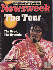 Michael Jackson NEWSWEEK Victory Tour American USA Magazine 1984