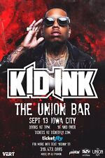 Kid Ink 2  American Rapper Poster Singer Songwriter Hip hop Music Brian Collins