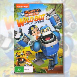 Rusty Rivets Wild Bot Adventures DVD Childrens Kids Family Fun Robots | NEW
