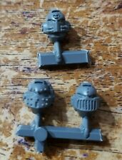 Warhammer 40K Space Marine Bits: Venerable Dreadnought Armored Heads x3