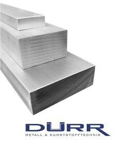 Aluminium Flachstange AlMgSi1 Maße wählbar L: 50mm bis 1000mm Alu Flachmaterial