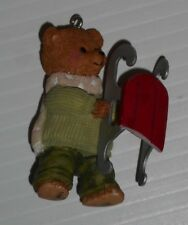 Hallmark Keepsake Ornament 2002 Dexter Next 3rd in the Snow Cub Club collection