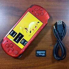 Sony PSP 3000 Radiant Red 32GB   Emulators Installed CFW + Charger