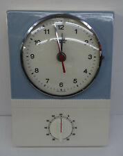 mid century design 60s - Elektromechanische Diehl Küchenuhr Uhr Kurzzeitwecker