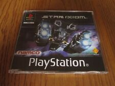 Star Ixiom PROMO & inlay – PS1 (Full Promotional Game) PlayStation – NAMCO shmup