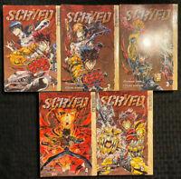 Scryed 1, 2, 3, 4, 5 Manga Tokyopop OOP Sci Fi Adventure COMPLETE