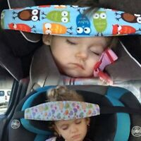 Child Kids Safety Car Seat Sleep Aid Head Band Fasten Support Belt Fixing Baby