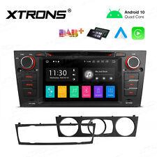 64Bit Android 10 Car Stereo Radio DVD GPS DAB+ For BMW 3 Series E90 E91 E92 E93