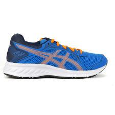 ASICS Kids Jolt 2 GS Directoire Blue/Orange Cone Running shoes 1014A035.409 NEW