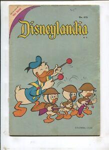 DISNEYLANDIA #479 FOREIGN ISSUE! (2.5) 1968