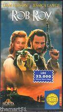 Rob Roy (1995) VHS MGM    JESSICA LANGE - NEW cellofanata