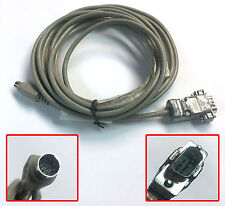 10' Mac Serial Deck Control Cable to Sony 9 pin DB9 RS422 Serial Video VTR VCR