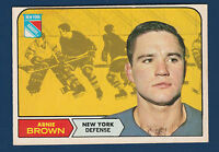 ARNIE BROWN 68-69 O-PEE-CHEE 1968-69 NO 68 EXMINT+  4