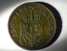1758. 3 pfennig 1869 A Germany Prussia 120 einen Thaler