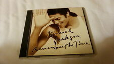 MICHAEL JACKSON Remember the time CD JAPAN REMIXES 1991 ESCA-5582 s297