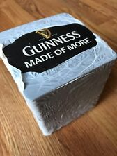 "One Pack Of Guinness ""Made Of More"" 100x Beer Mats  Coasters"