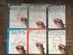 Learning How To Draw books,