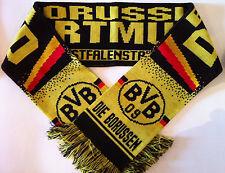 Borussia Dortmund Football Scarves New from Superior Acrylic Yarns